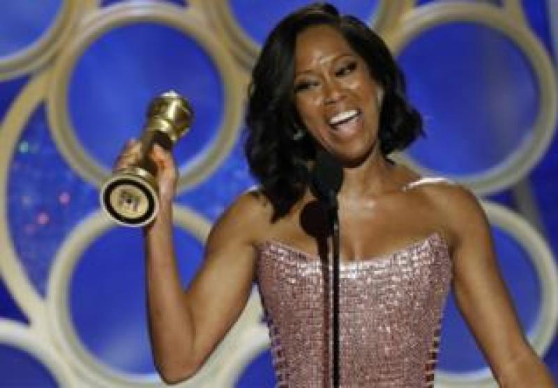 Regina King, winner of the Best Supporting Actress Golden Globe