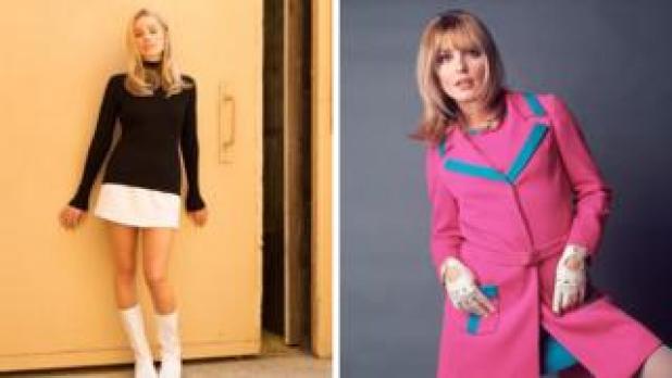 Margot Robbie and Sharon Tate