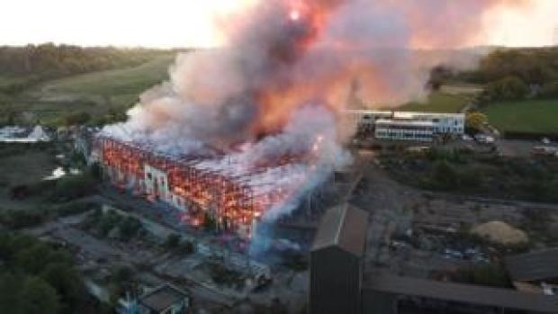 Fisons Building fire