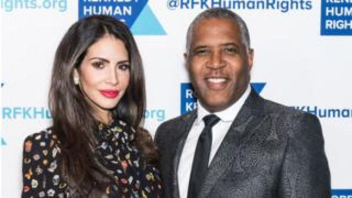 NEW YORK, NY - DECEMBER 13: Hope Smith and Robert Smith attend Robert F. Kennedy Human Rights Hosts Annual Ripple Of Hope Awards Dinner at New York Hilton on December 13, 2017 in New York City. (Photo by Gilbert Carrasquillo/FilmMagic)