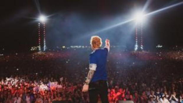 Ed Sheeran in Ipswich