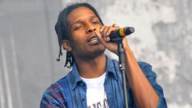 ASAP Rocky on stage
