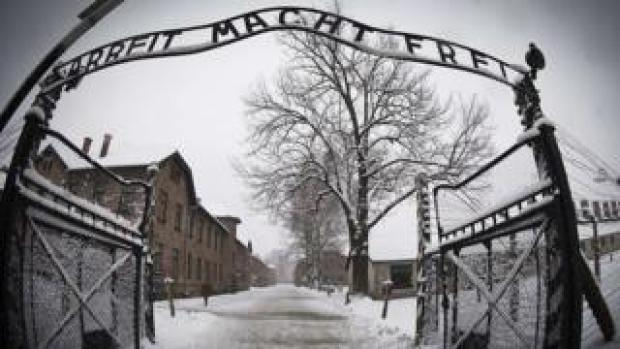 Auschwitz camp gates
