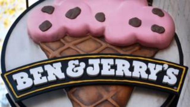 Ben & Jerry's Ice Cream Shop Poster
