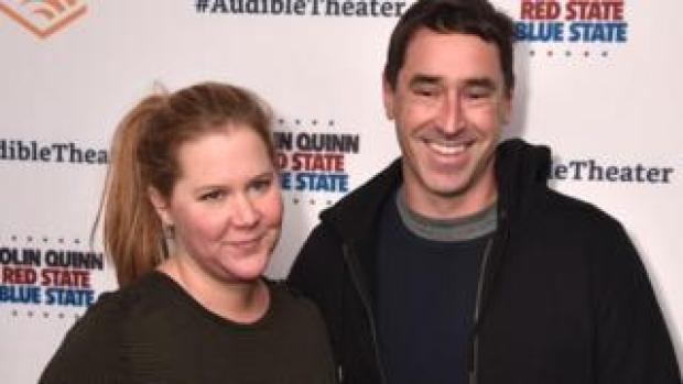 Amy Schumer and husband Chris Fischer
