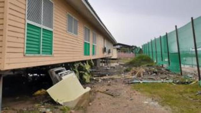 The aftermath of Cyclone Harold in the Solomon Islands