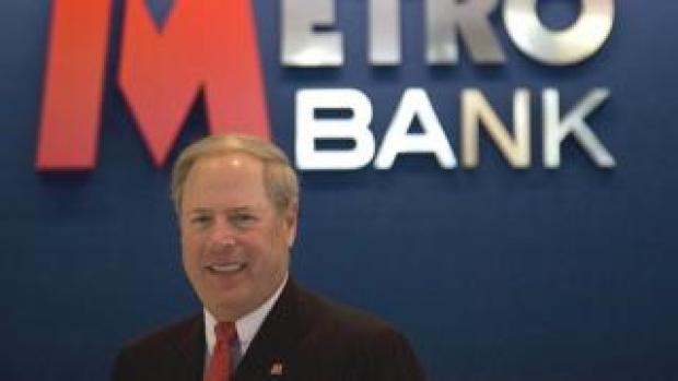 Metro Bank chairman and founder Vernon Hill