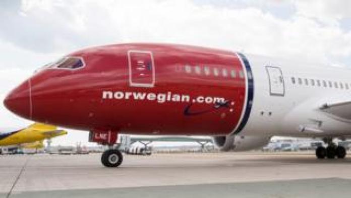 Norwegian Air plane