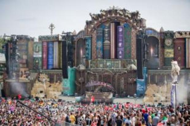 Tomorrowland in Belgium