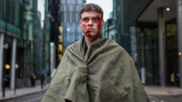 Richard Madden as David Budd in the finale of Bodyguard