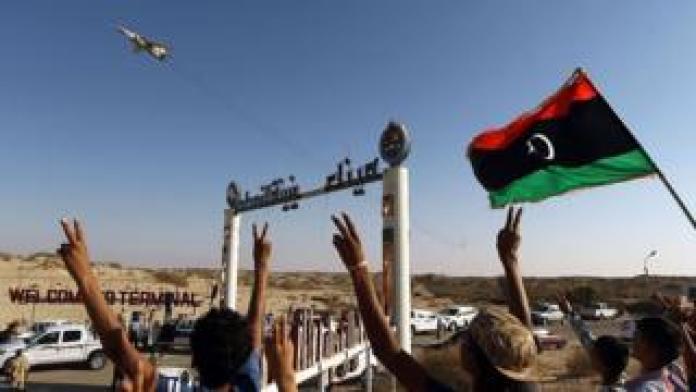 Libyan fighters