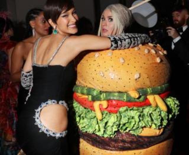 Katy Perry with Bella Hadid