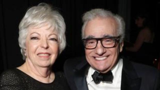 Thelma Schoonmaker and Martin Scorsese