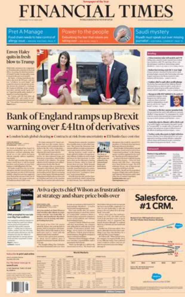 Financial Times - 10 October