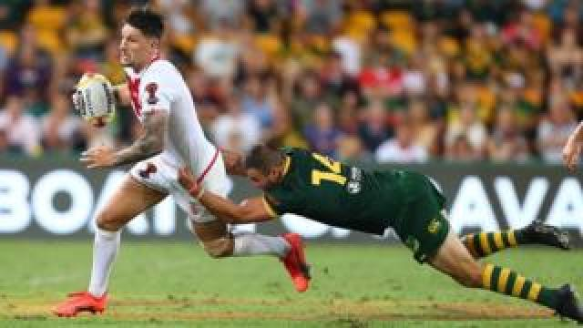 Australia v England in the 2017 Rugby League World Cup