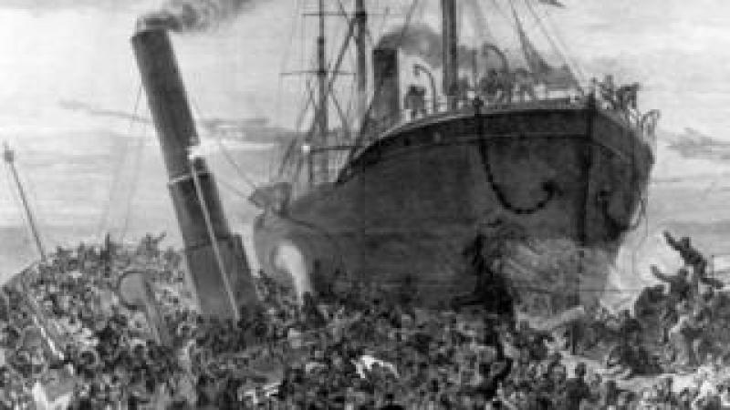 Princess Alice and Bywell Castle collision
