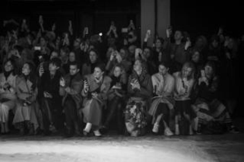 The front row at the Roksanda show during London Fashion Week February 2019