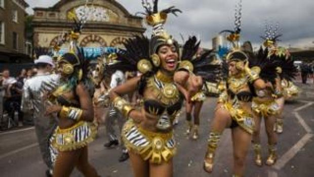 Notting Hill Carnival performers