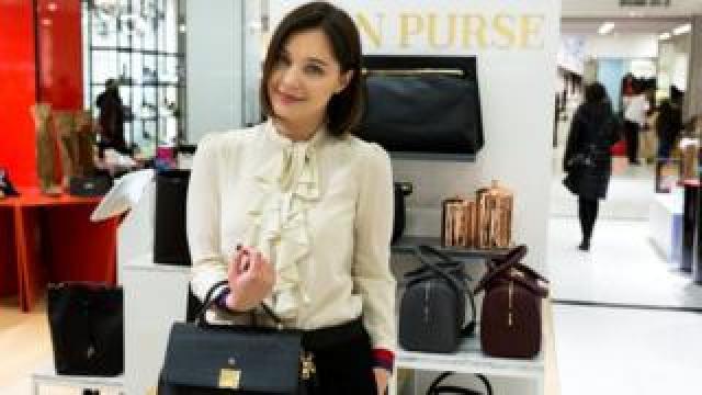 Lana Hopkins Mon Purse founder