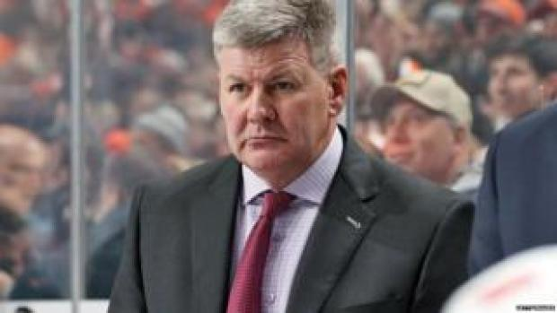 Bill Peters, head coach of the ice hockey team the Calgary Flames