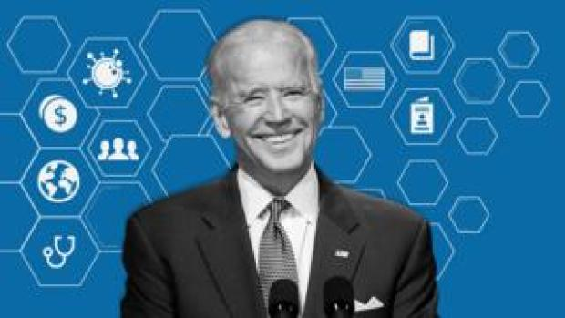 Promo image showing Joe Biden
