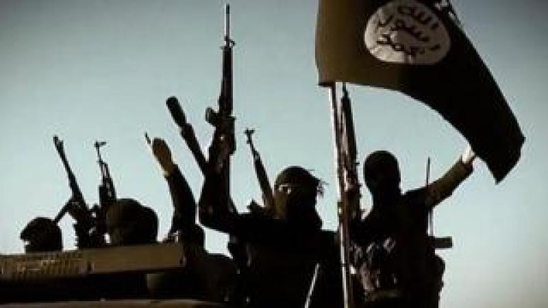 Islamic State fighters, file pic
