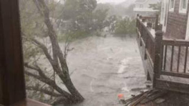 Ocracoke flooding