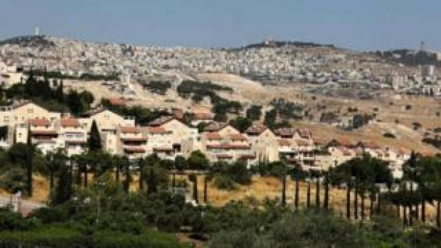 Israeli settlement of Maale Adumim in the occupied West Bank (1 July 2020)