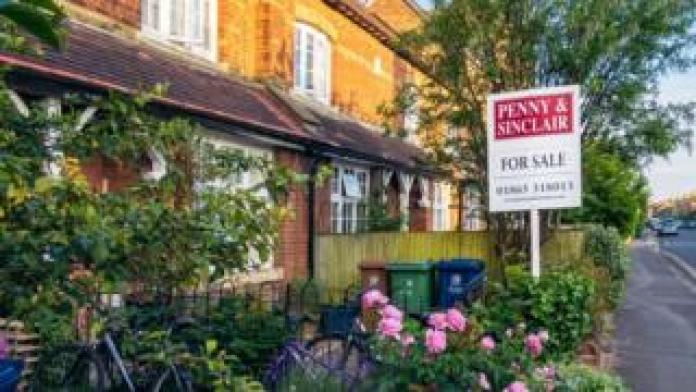 Home for sale with garden