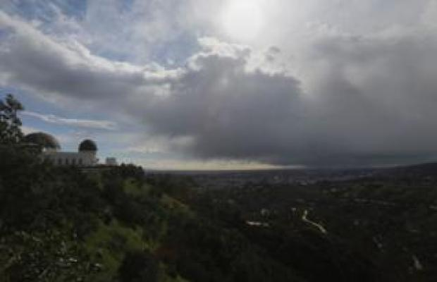 LA seen from the Griffith Observatory on 21 February