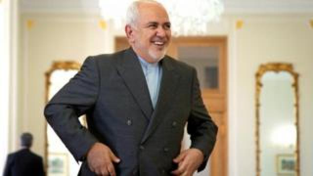 Iranian Foreign Minister Mohammad Javad Zarif. Photo: 27 July 2019