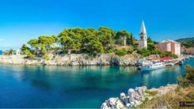 جزيرة كرواتيا الساحرة