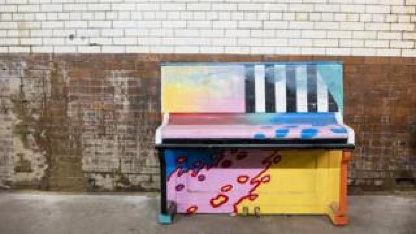 Selhurst station piano