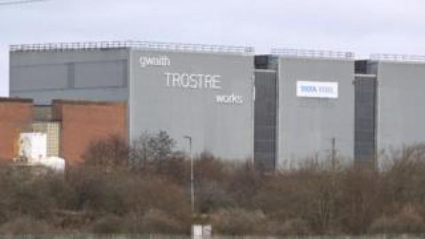 Trostre steelworks