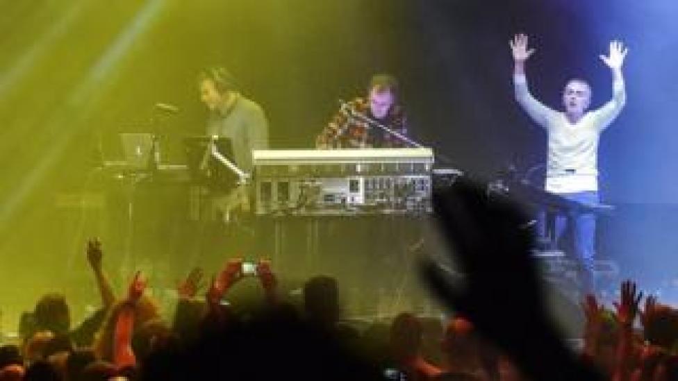 Underworld perform at Glastonbury