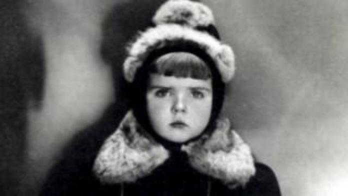 Vaira aged five in Riga, Latvia, in 1942