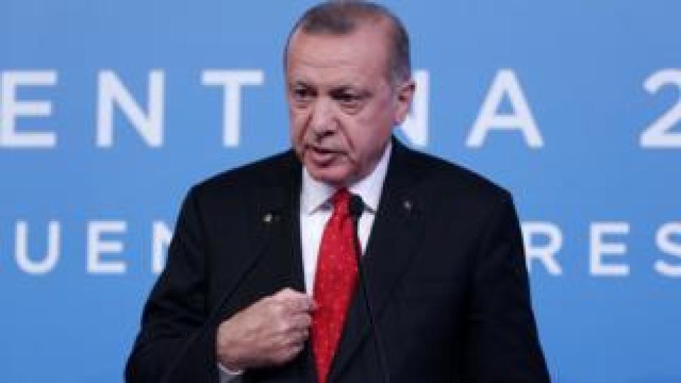 Erdogan at the G20
