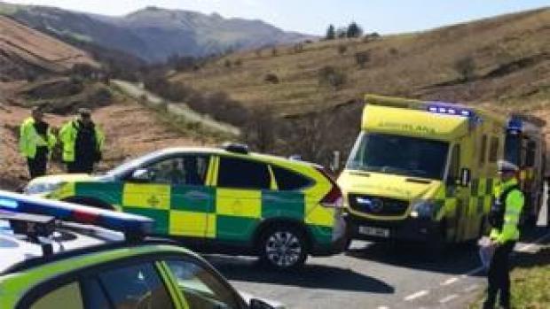 Powys crash