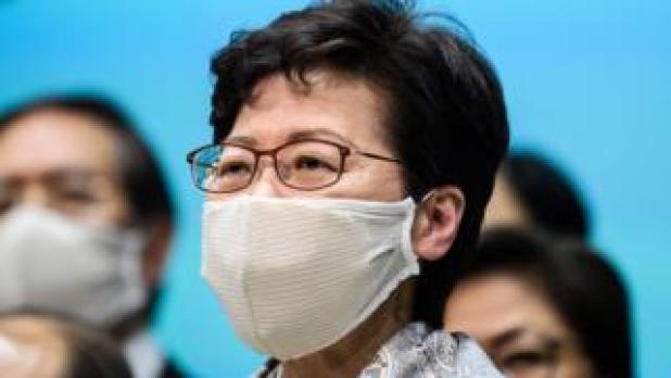 Security: Carrie Lam