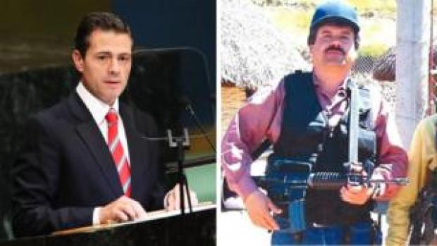 Pena Nieto and Guzman