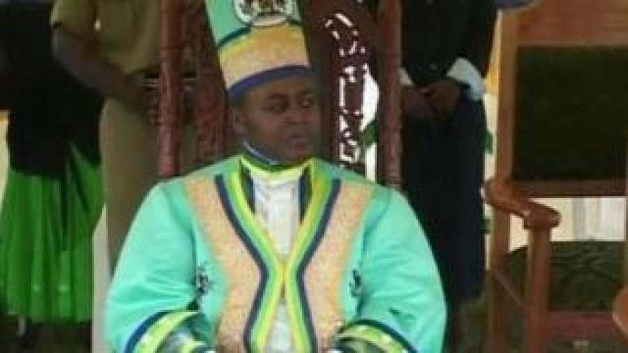 Umwami wa Rwenzururu Wesley Mumbe