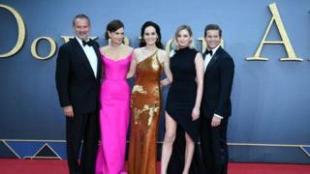 Downton Abbey cast at premiere