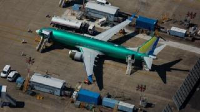 Boeing 737 Max Planes Sit Idle As Company Continues To Work On Software Glitch.