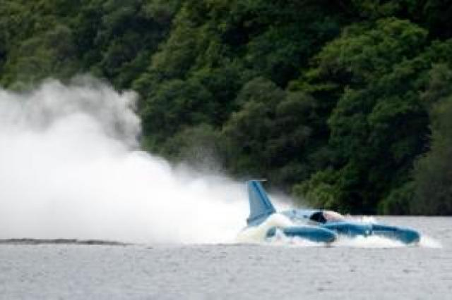 Pilot Ted Walsh fires up Bluebird on Lock Fad, August 2018