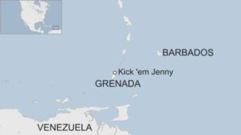 Map of Grenada