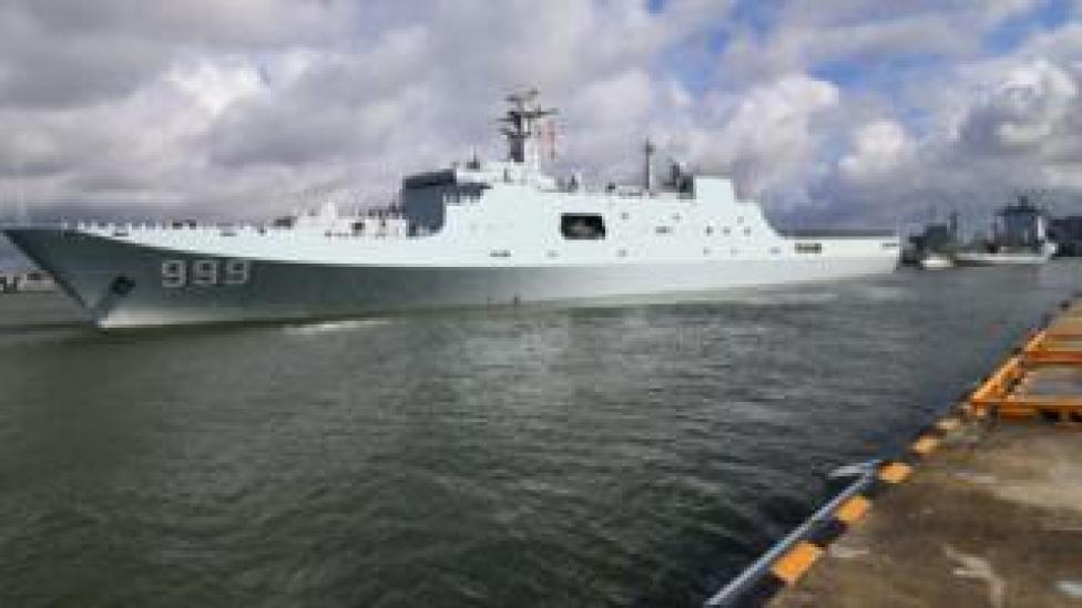 China navy ship