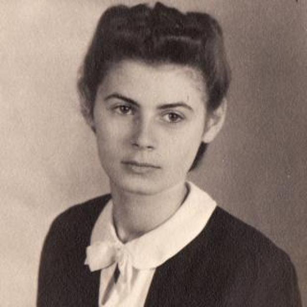 Ursula Michel in Mannheim in the summer of 1939