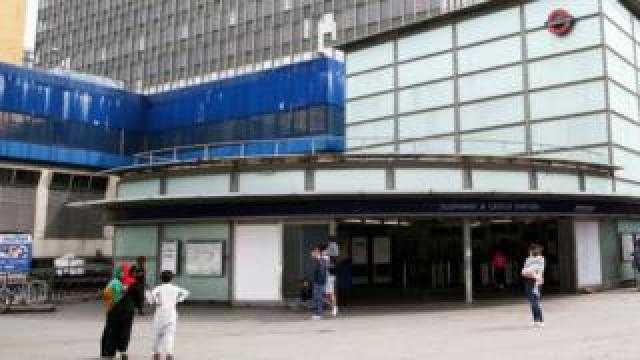 A stock image of Elephant and Castle station