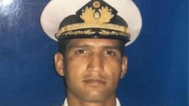 Rafael Acosta, the navy captain who died in custody in Venezuela