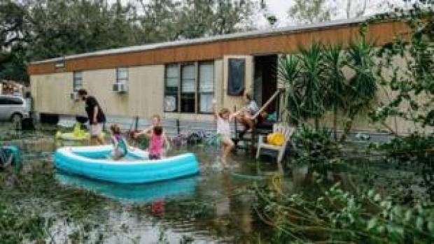 Hurricane Sally damage in Florida